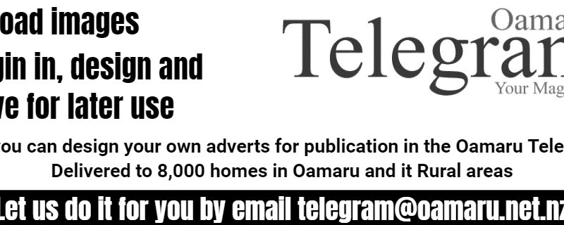 32mm Oamaru Telegram Advert